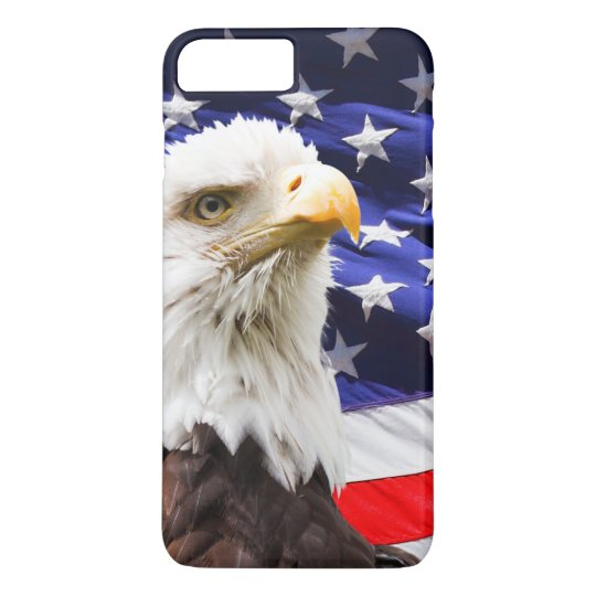 American Eagle and Flag iPhone 8 Plus/7 Plus Case