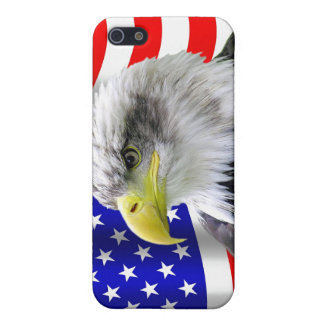 American Eagle And Flag Patriotic iPhone4 Case iPhone 5/5S Cover