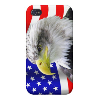 American Eagle And Flag Patriotic iPhone4 Case iPhone 4 Cover