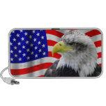 American Eagle And Flag Patriotic Speaker
