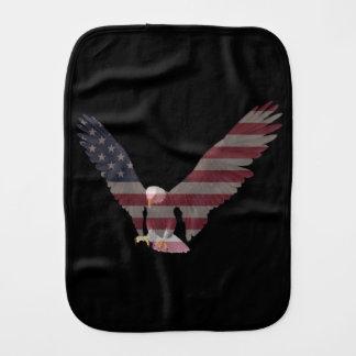 American Eagle Baby Burp Cloths
