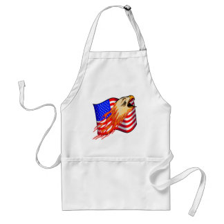American Eagle Biker T shirts Gifts Adult Apron
