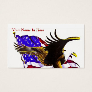 American Eagle Business Card