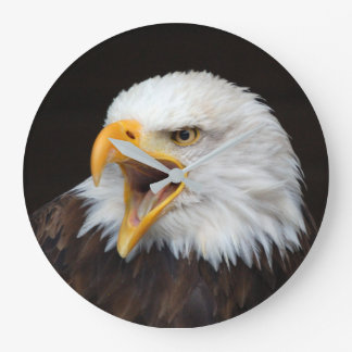 AMERICAN EAGLE - by Jean Louis Glineur Large Clock