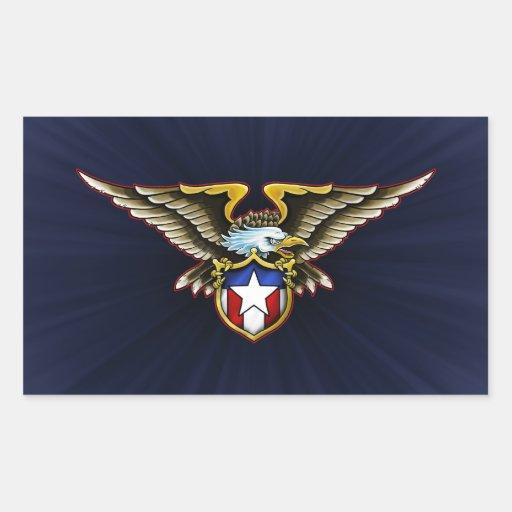 American Eagle Design Stickers