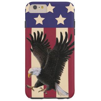 American Eagle & Flag iPhone 6 Tough Case Tough iPhone 6 Plus Case