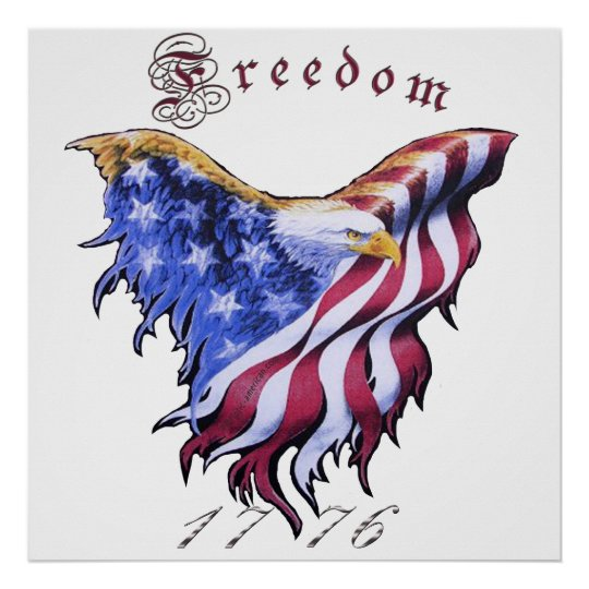 American Eagle -  Freedom Poster