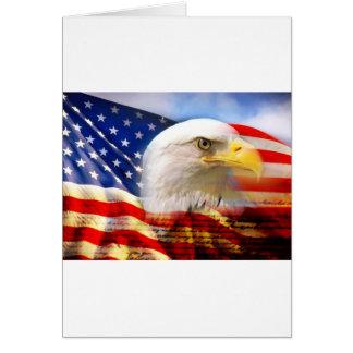 AMERICAN EAGLE GREETING CARD