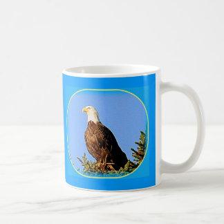 AMERICAN EAGLE IN ALASKA COFFEE MUG