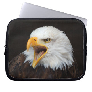 AMERICAN EAGLE ~ photo Jean Louis Glineur Laptop Computer Sleeves