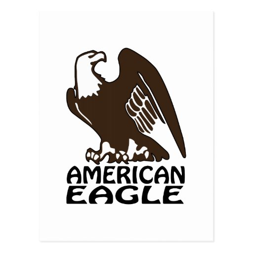 American Eagle Postcards