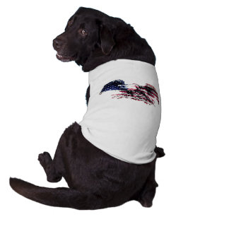 American Eagle Sleeveless Dog Shirt