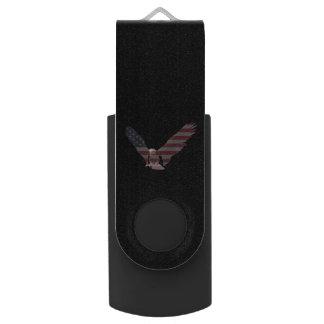 American Eagle Swivel USB 2.0 Flash Drive