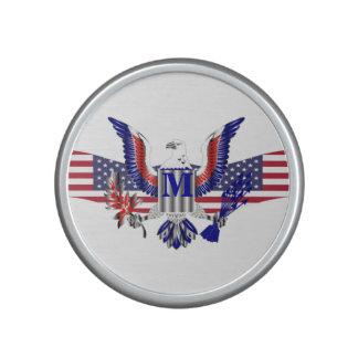 American eagle symbol speaker