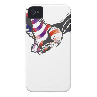 American Eagle USA National Flag Independence Memo Case-Mate iPhone 4 Case