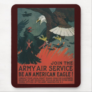 American Eagle World War 2 Mouse Pads