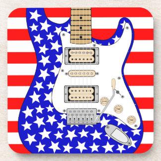American Electric Guitar Coaster