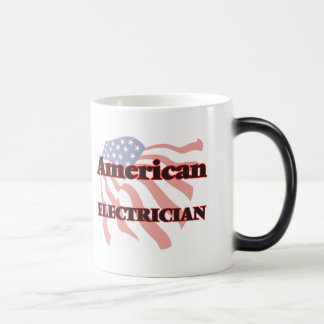 American Electrician Morphing Mug