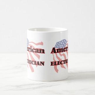 American Electrician Basic White Mug