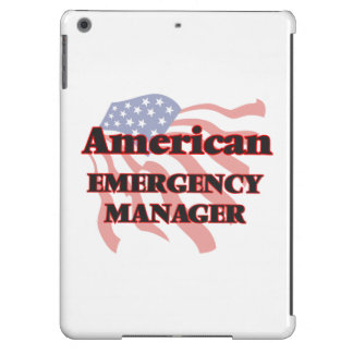 American Emergency Manager iPad Air Cover