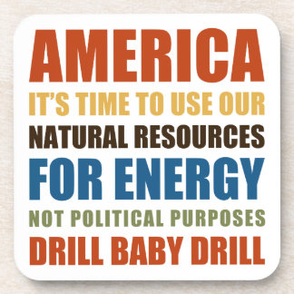 American Energy Beverage Coaster