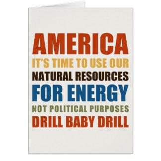 American Energy Greeting Card