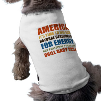 American Energy Pet Tshirt