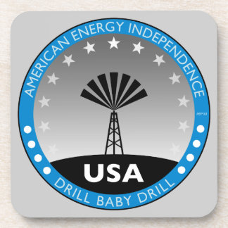 American Energy Independence Beverage Coaster