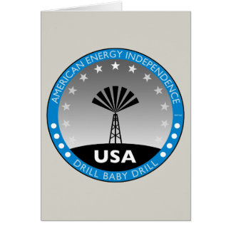 American Energy Independence Greeting Card