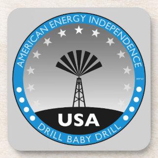 American Energy Independence Beverage Coaster