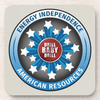 American Energy Independence Drink Coaster
