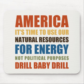 American Energy Mouse Pads