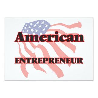 American Entrepreneur 13 Cm X 18 Cm Invitation Card