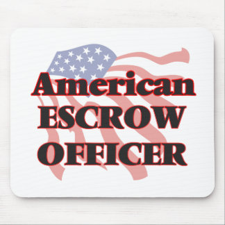American Escrow Officer Mouse Pad