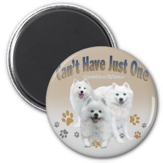 American Eskimo Can t Have Just One Magnet