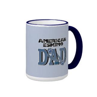 American Eskimo DAD Coffee Mugs