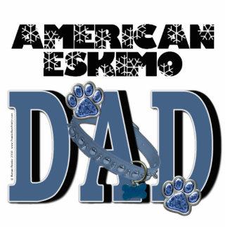 American Eskimo DAD Cut Out
