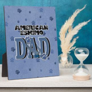 American Eskimo DAD Display Plaque