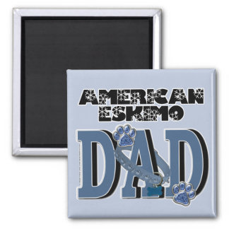 American Eskimo DAD Fridge Magnet