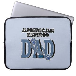 American Eskimo DAD Laptop Sleeve