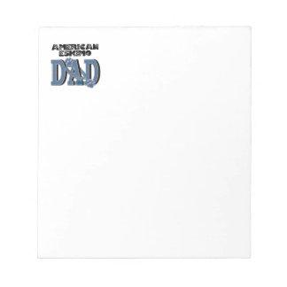 American Eskimo DAD Memo Notepads