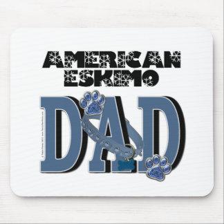 American Eskimo DAD Mouse Pad