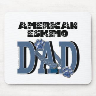 American Eskimo DAD Mouse Pads