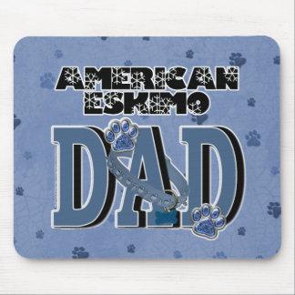 American Eskimo DAD Mousepad
