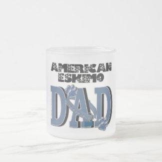 American Eskimo DAD Mugs