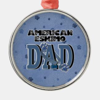 American Eskimo DAD Ornament