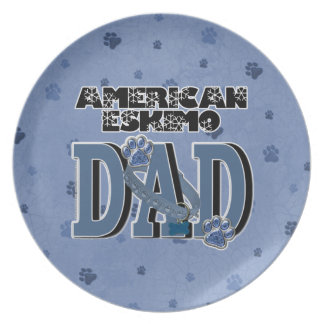 American Eskimo DAD Plate