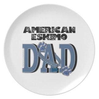 American Eskimo DAD Plates