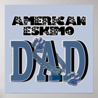 American Eskimo DAD Poster