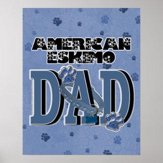 American Eskimo DAD Posters